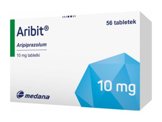 Aribit interakcje ulotka tabletki 0,01 g 56 tabl.