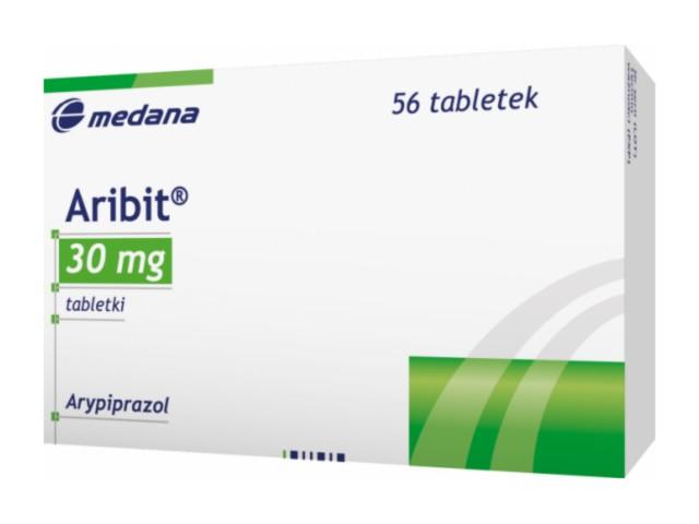 Aribit interakcje ulotka tabletki 0,03 g 56 tabl.
