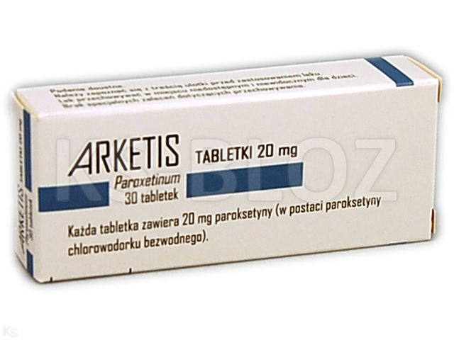 Arketis 20mg interakcje ulotka tabletki 0,02 g 30 tabl.