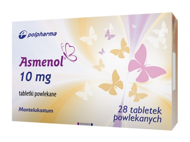 Asmenol interakcje ulotka tabletki powlekane 0,01 g 28 tabl.