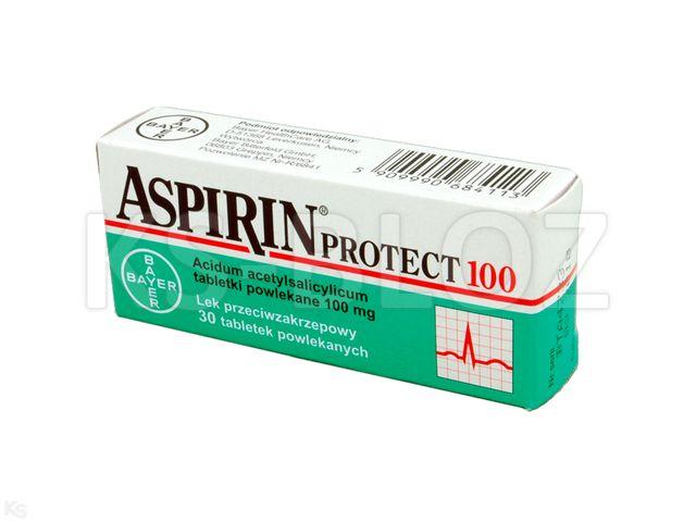 Aspirin Cardio interakcje ulotka tabletki powlekane 0,1 g 30 tabl.
