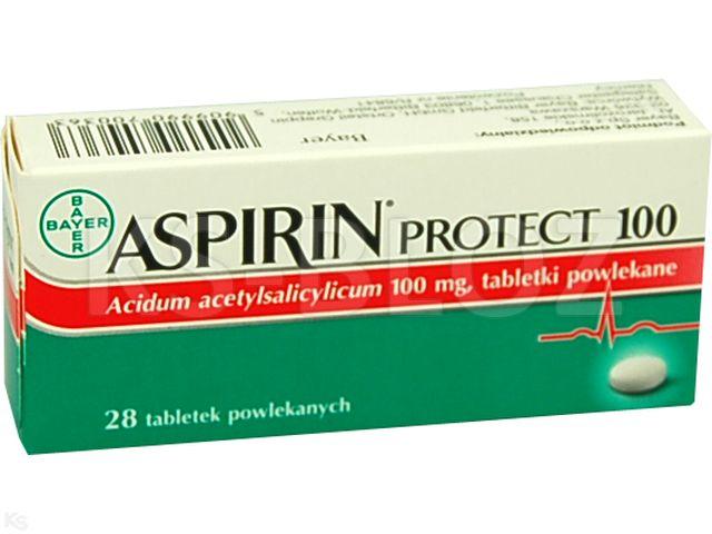 Aspirin Cardio interakcje ulotka tabletki powlekane 0,1 g 28 tabl.
