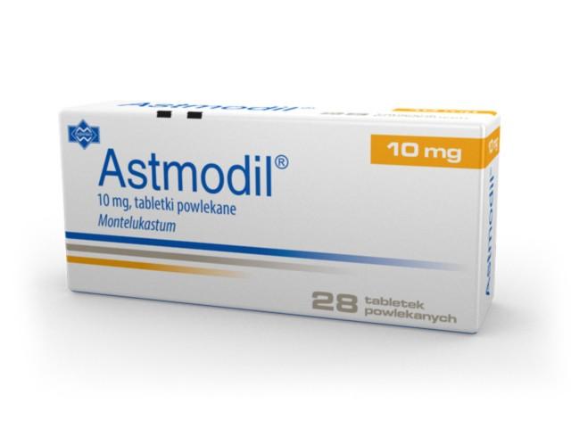 Astmodil interakcje ulotka tabletki powlekane 0,01 g 28 tabl.