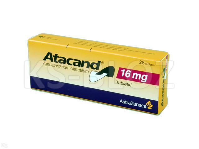 Atacand interakcje ulotka tabletki 0,016 g 28 tabl.