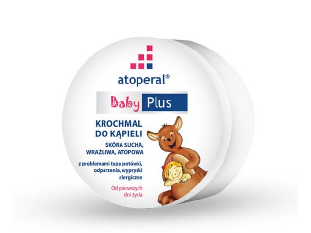 ATOPERAL BABY Plus Krochmal d/kąpieli interakcje ulotka proszek  125 g