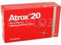 Atrox 20 interakcje ulotka tabletki powlekane 0,02 g 30 tabl.