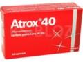 Atrox 40 interakcje ulotka tabletki powlekane 0,04 g 30 tabl.