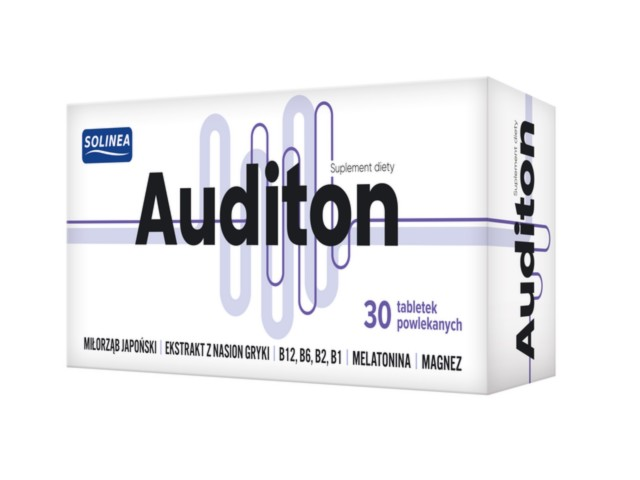 Auditon interakcje ulotka tabletki  30 tabl.