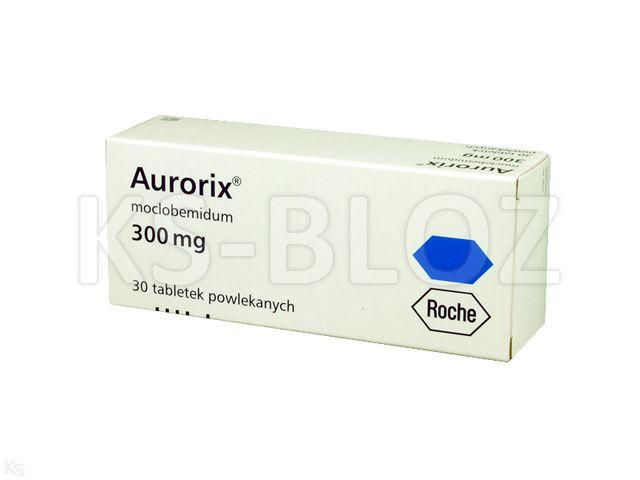 Aurorix interakcje ulotka tabletki powlekane 0,3 g 30 tabl.
