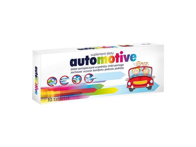 Automotive interakcje ulotka tabletki  10 tabl.