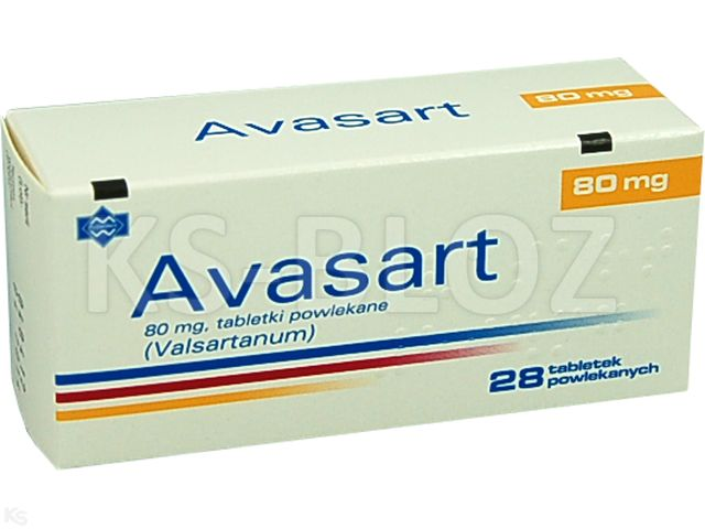 Avasart interakcje ulotka tabletki powlekane 0,08 g 28 tabl.