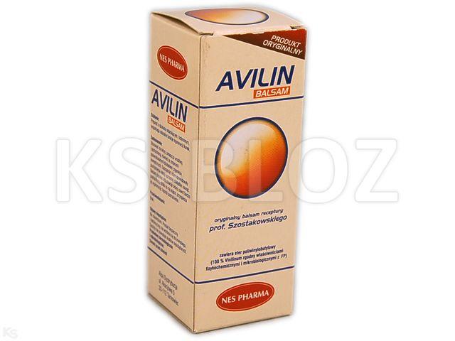 AVILIN Balsam interakcje ulotka płyn  50 ml
