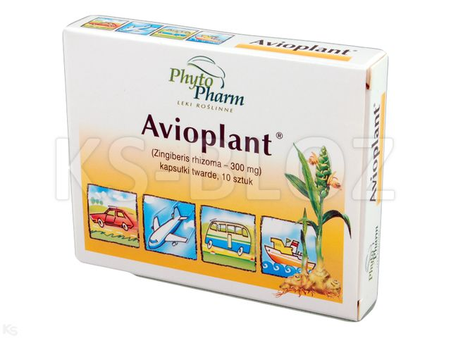 Avioplant interakcje ulotka kapsułki twarde 0,3 g 10 kaps.
