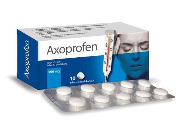 Axoprofen interakcje ulotka tabletki 0,2 g 10 tabl.
