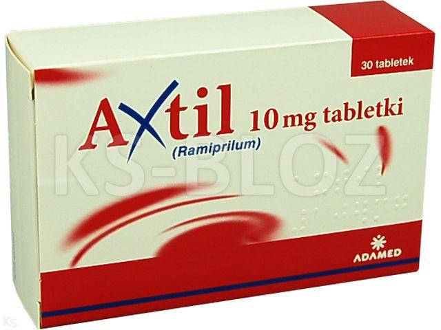 Axtil interakcje ulotka tabletki 0,01 g 30 tabl.