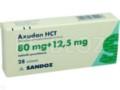Axudan HCT interakcje ulotka tabletki powlekane 0,08g+0,0125g 28 tabl.