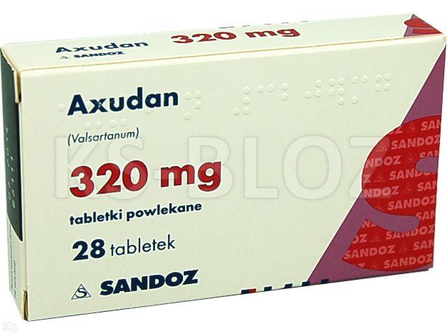 Axudan interakcje ulotka tabletki powlekane 0,32 g 28 tabl.