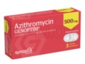Azithromycin Genoptim interakcje ulotka tabletki powlekane 0,5 g 3 tabl.