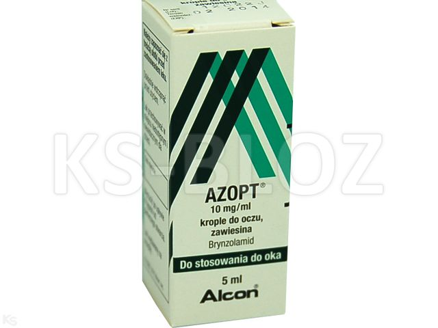 Azopt interakcje ulotka krople do oczu 0,01 g/ml 1 but. po 5 ml