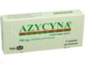 Azycyna interakcje ulotka tabletki powlekane 0,5 g 3 tabl.