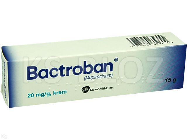 Bactroban interakcje ulotka krem 0,02 g/g 15 g