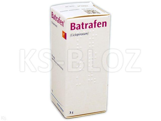 Batrafen interakcje ulotka lakier do paznokci leczniczy 0,08 g/g 3 g