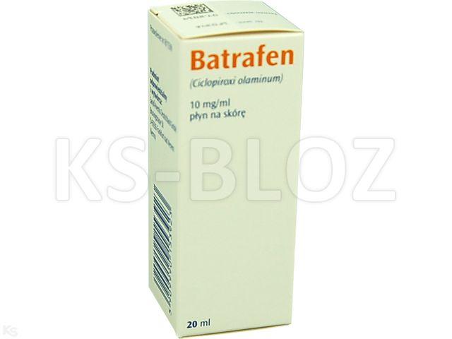 Batrafen interakcje ulotka płyn do stosowania na skórę 0,01 g/ml 20 ml