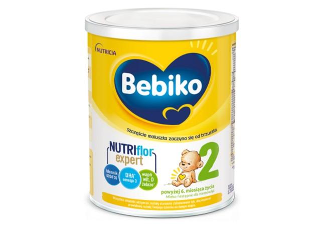 Bebiko 2 Nutriflor Expert interakcje ulotka proszek  700 g