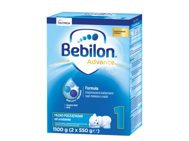 Bebilon 1 interakcje ulotka proszek  1100 g