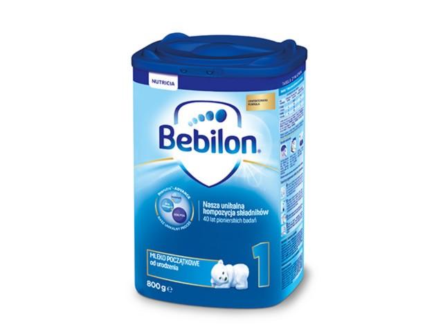 Bebilon 1 z Pronutra-ADVANCED interakcje ulotka proszek  800 g