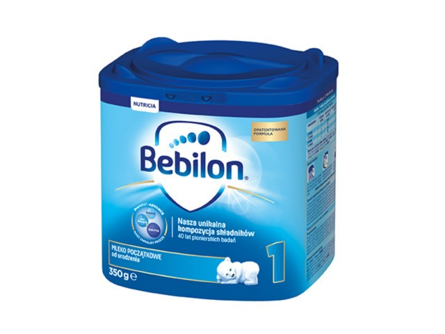 Bebilon 1 z Pronutra-ADVANCED interakcje ulotka proszek  350 g