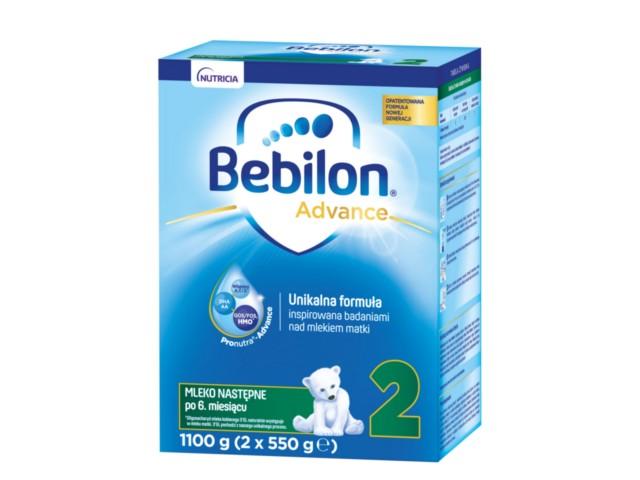 Bebilon 2 interakcje ulotka proszek  1100 g