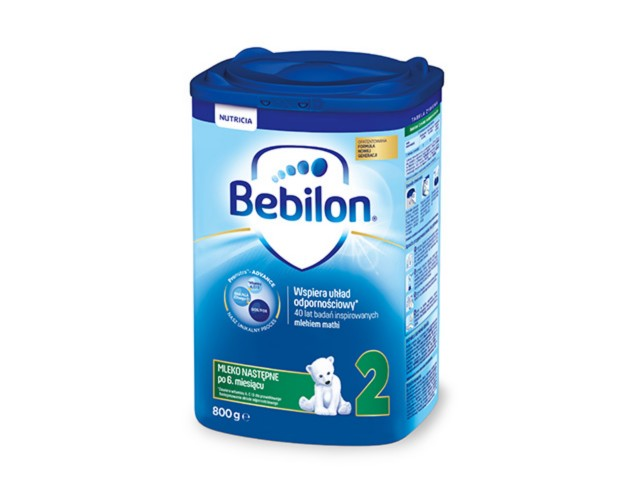 Bebilon 2 z Pronutra-ADVANCED interakcje ulotka proszek  800 g