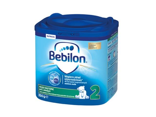 Bebilon 2 z Pronutra-ADVANCED interakcje ulotka proszek  350 g