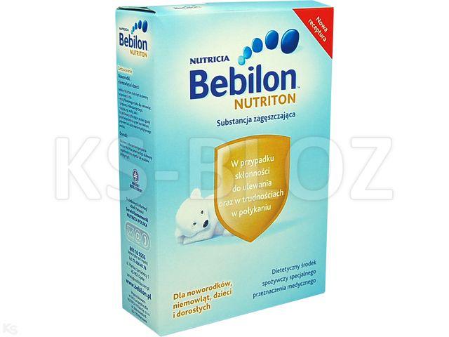 Bebilon Nutriton interakcje ulotka proszek  135 g