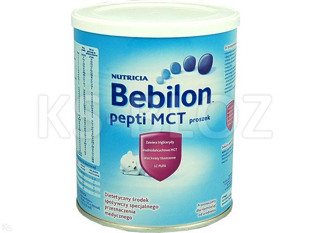Bebilon PEPTI MCT interakcje ulotka proszek  450 g