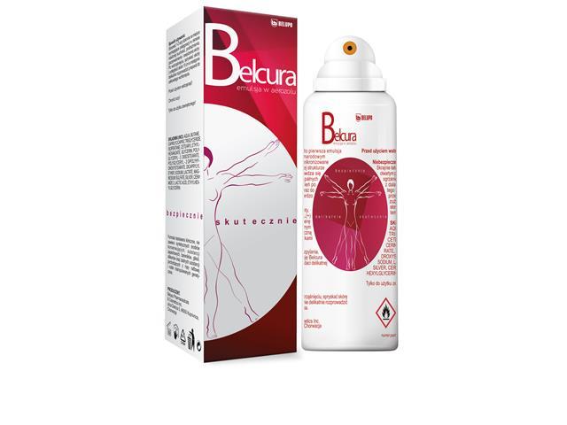Belcura Emuls. w sprayu do ciała interakcje ulotka   125 ml