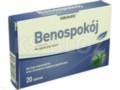 Benospokój interakcje ulotka tabletki  20 tabl.