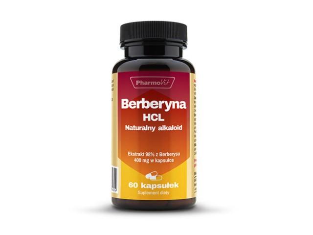 Berberyna HCL interakcje ulotka kapsułki  60 kaps.