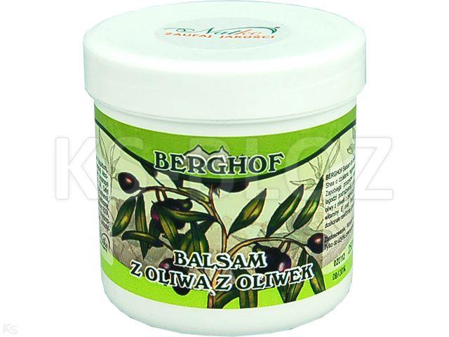 BERGHOF Balsam d/ciała z ol.z oliwek interakcje ulotka   250 ml
