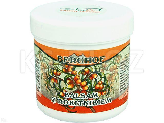 BERGHOF Balsam d/ciała z rokitnikiem interakcje ulotka   250 ml