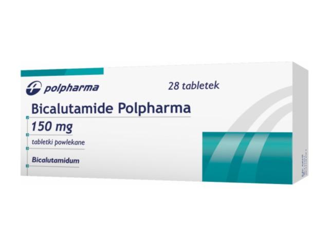Bicalutamide Polpharma 50 mg interakcje ulotka tabletki powlekane 0,05 g 28 tabl.