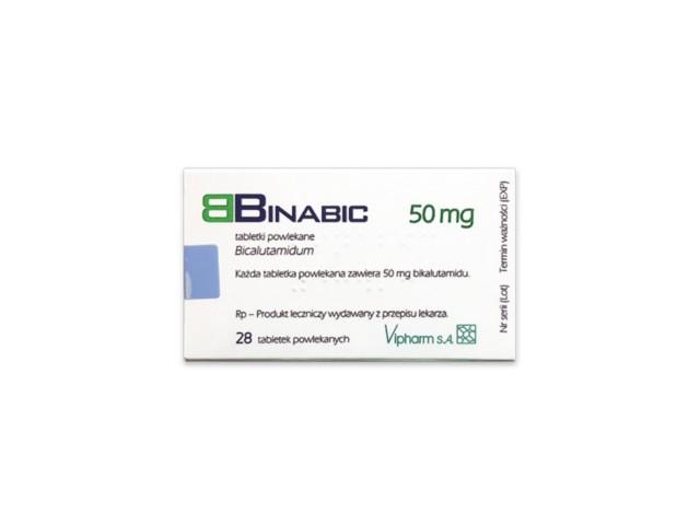 Binabic interakcje ulotka tabletki powlekane 0,05 g 28 tabl.