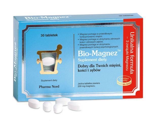 Bio-Magnez interakcje ulotka tabletki  30 tabl.