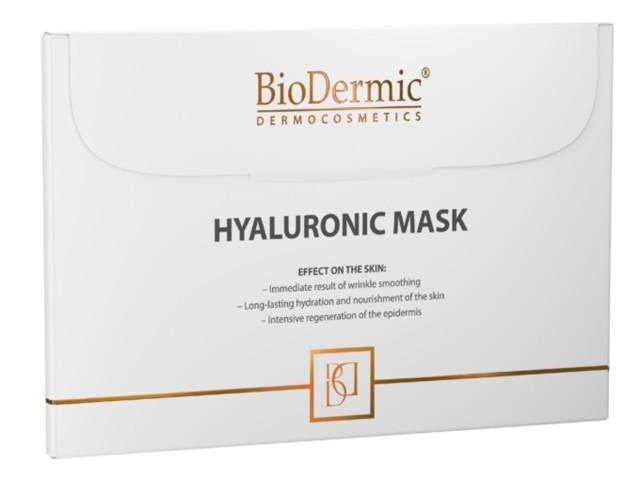 BIODERMIC DERMOCOSMETICS Maska hialuronowa interakcje ulotka   25 ml