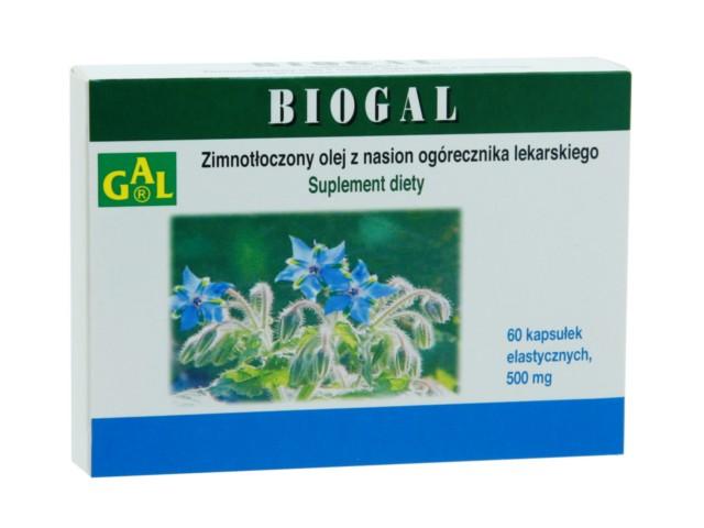 Biogal interakcje ulotka kapsułki  60 kaps.
