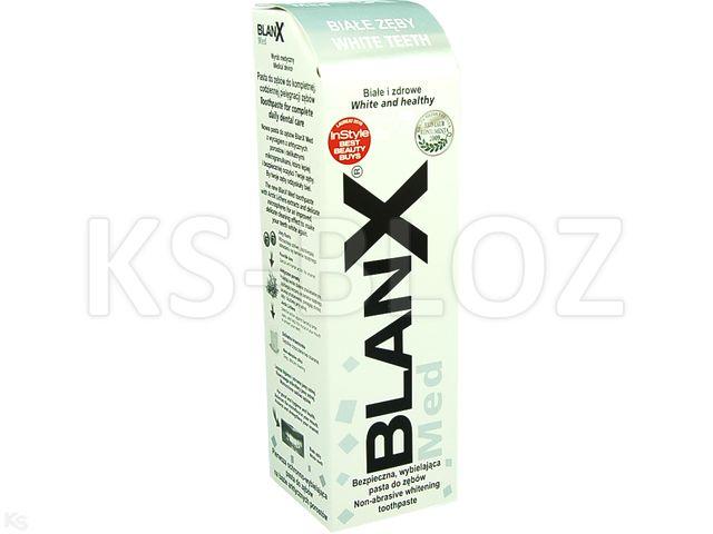 BLANX MED Classic Past.d/zęb. białe zęby interakcje ulotka   75 ml