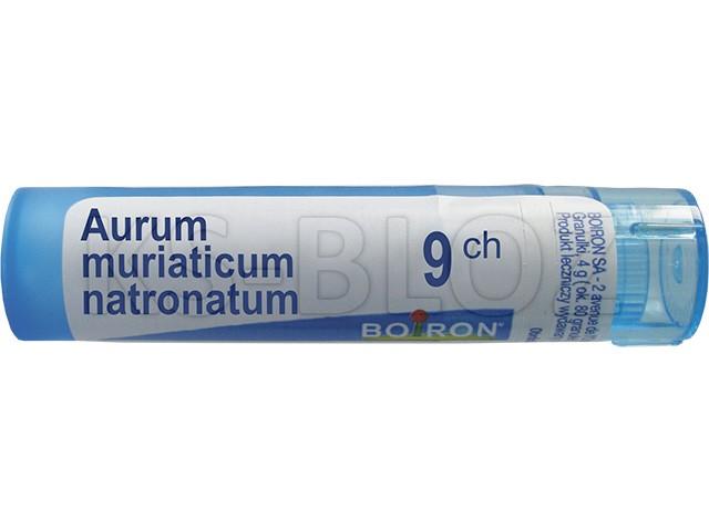 BOIRON Aurum Muriaticum Natronatum 9 CH interakcje ulotka granulki  4 g