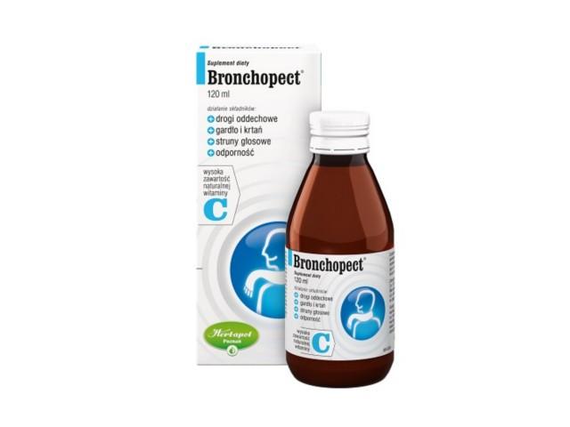 Bronchopect interakcje ulotka syrop  120 ml