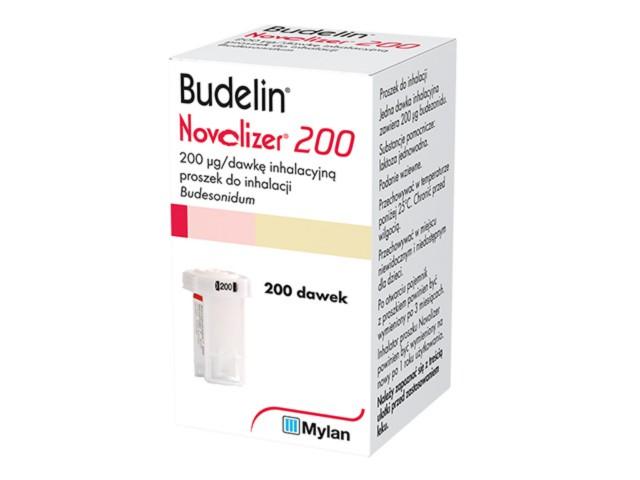 Budelin Novolizer 200 interakcje ulotka proszek do inhalacji 0,2 mg/daw. 1 poj. po 200 daw.